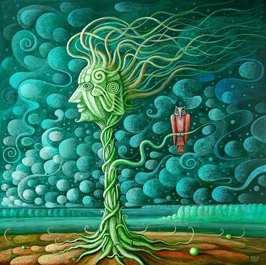 Surreal Paintings by Leszek Kostuj