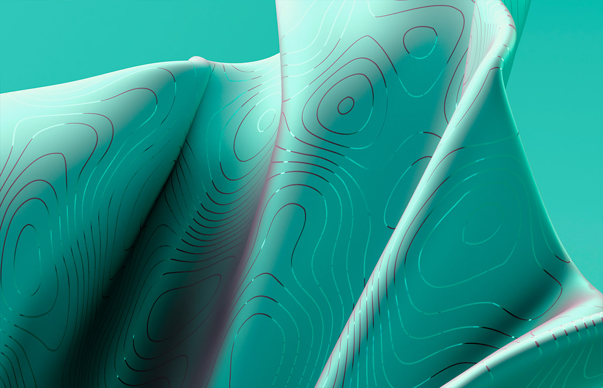 Digital Fabric Illustrations by Michael Novia