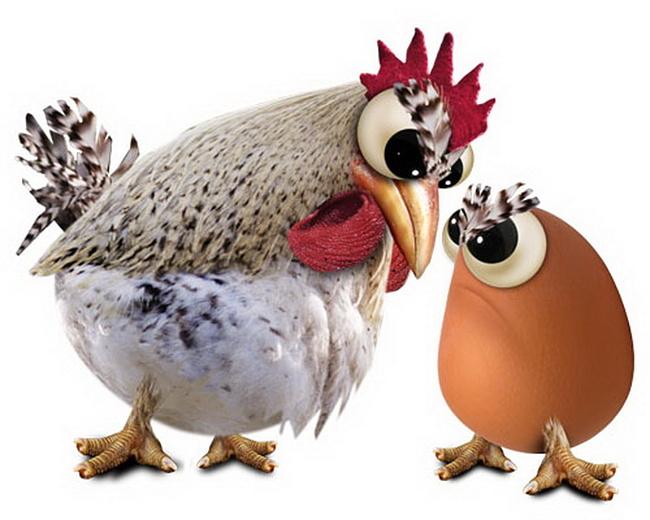 Парадокс курицы и яйца