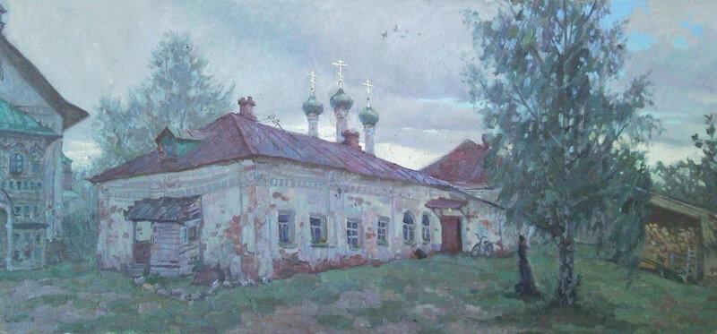 Дождь в монастыре, 2011.jpg