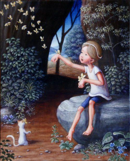 Шинья Окаяма. Рисуя детские мечты.