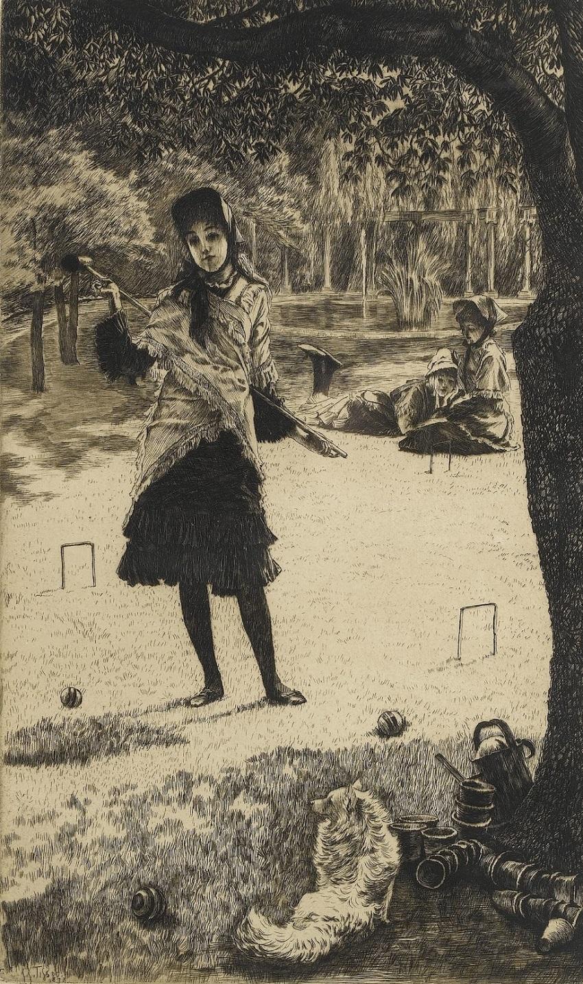1878 Крокет