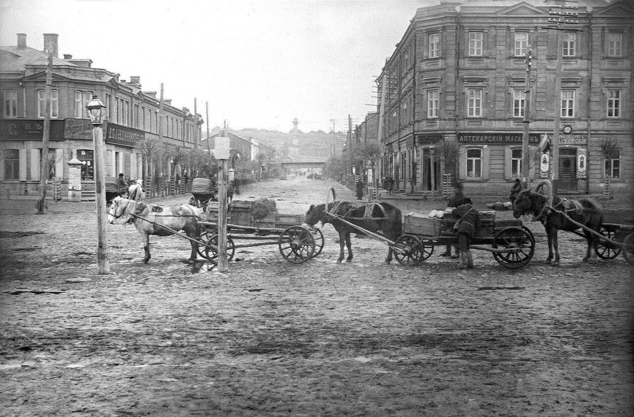 Сенная площадь и Старо-Петербургская улица