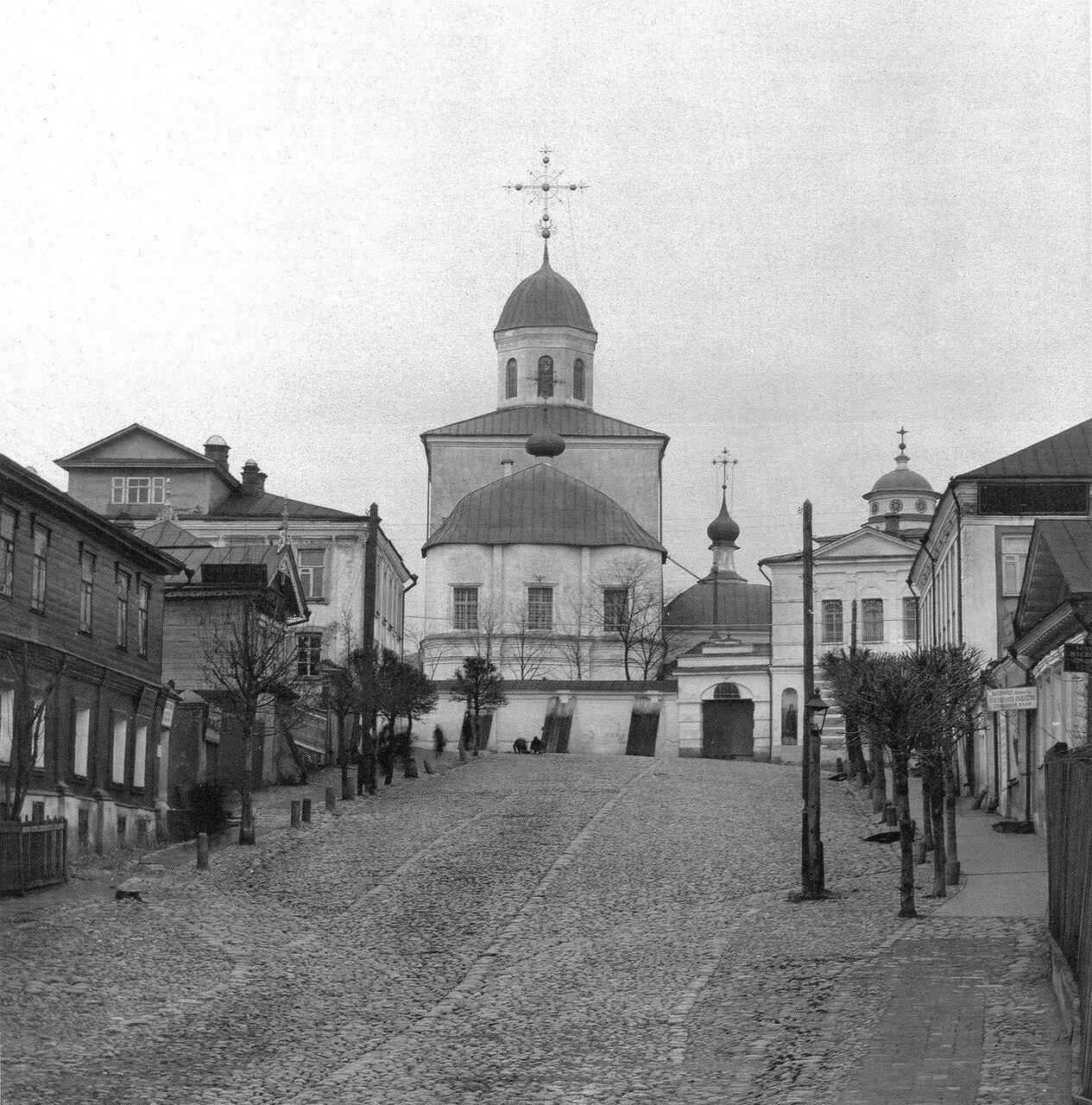 Вознесенский монастырь и Малая Вознесенская улица