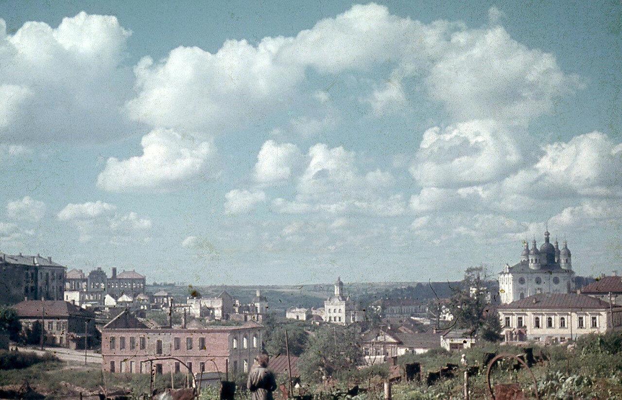 1941. Троицкий монастырь и Успенский собор