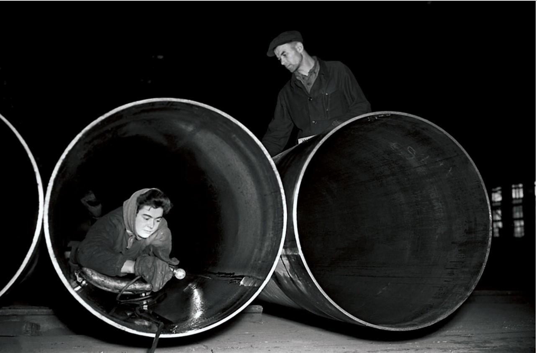Челябинск. ЧТПЗ. Цех труб большого диаметра. Подготовка продукции к отправке