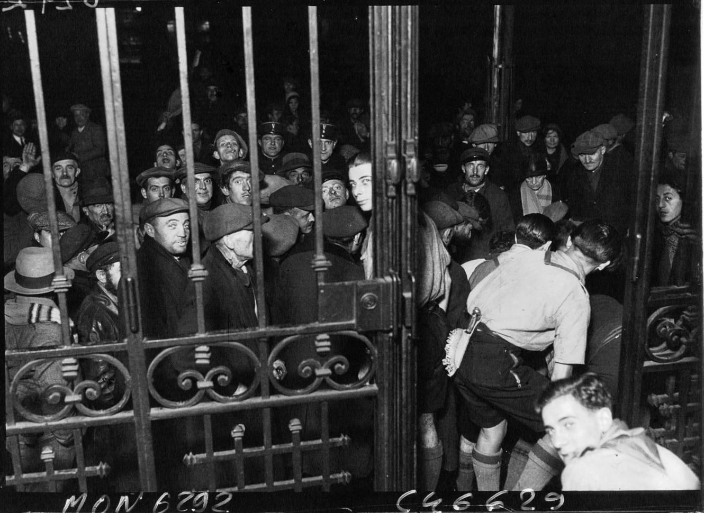 1933. Армия спасения. Распределения пищи бездомным