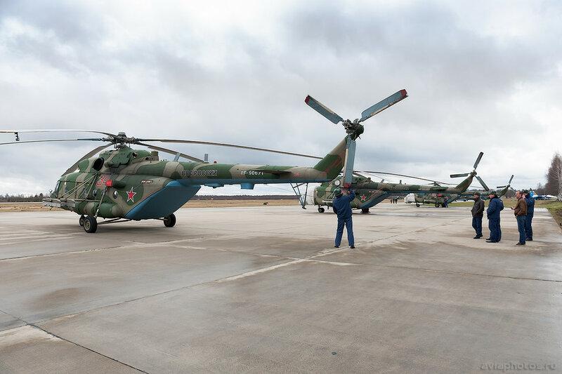 Миль Ми-8МТВ-5 (RF-90671 / 34 красный) ВКС России 211_D700581
