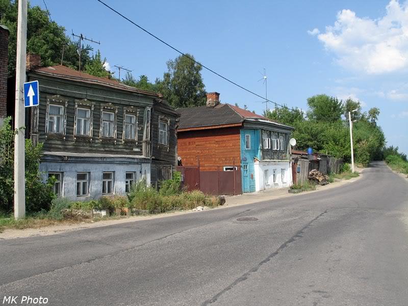 Улица Урицкого в центре Владимира
