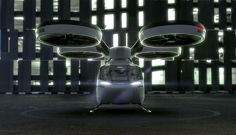 Летающий автомобиль с помощью дрона