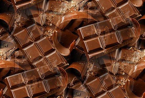 Открытки. С днем шоколада! Шоколадные плитки