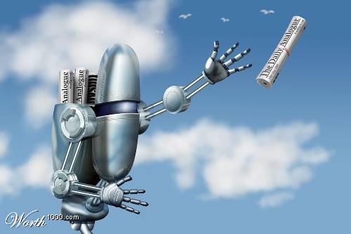 День почты! Робот-почтальон