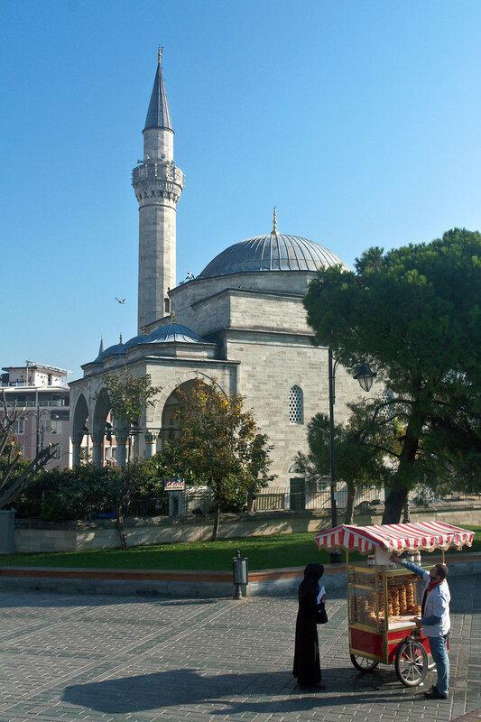 Тележка с бубликами Стамбул