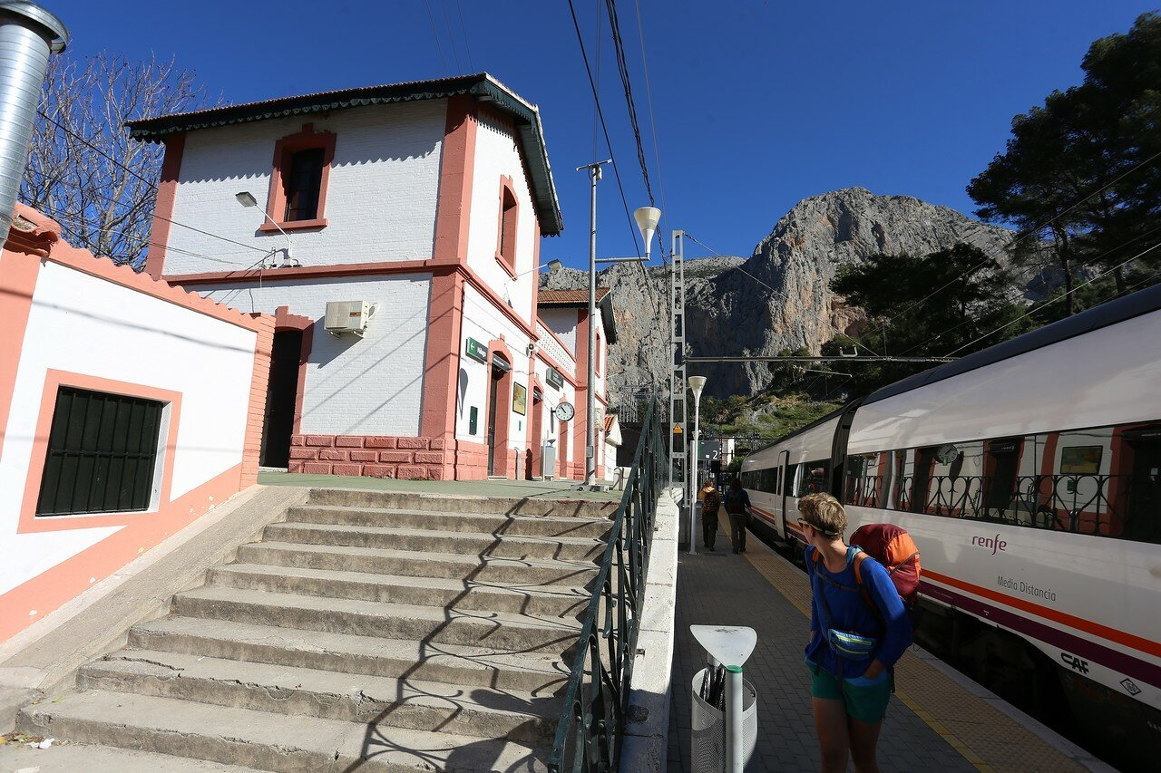 the Railway station El Chorro (Estacion El Chorro)