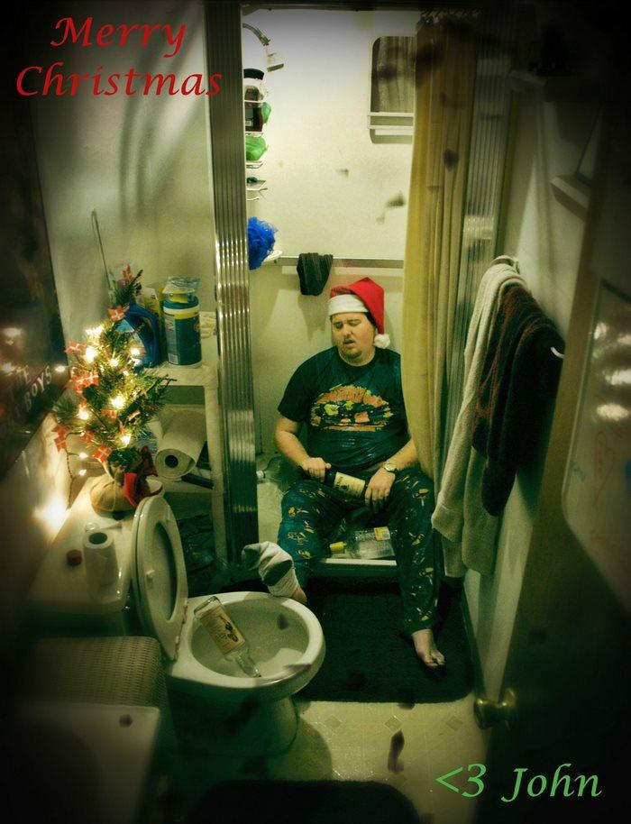 2008: «С Рождеством! С любовью, Джон».