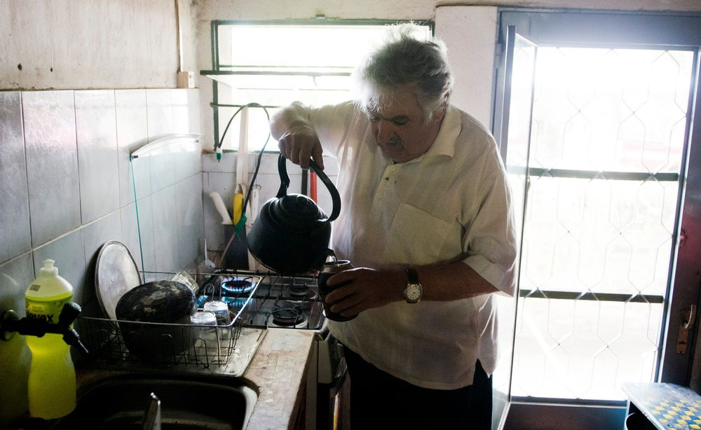 2. Самый бедный в мире президент Хосе Кордано — президент Уругвая, но местные жители зовут его Эль П