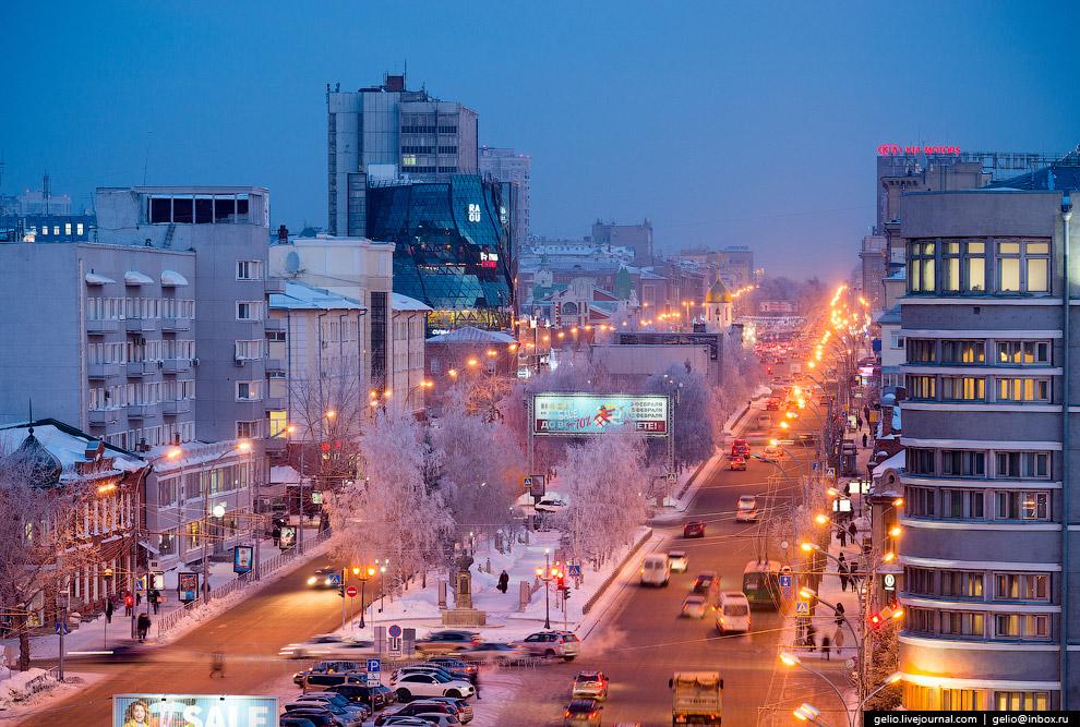 6. Мэрия Новосибирска.