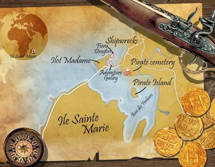 Расположенный аккурат на пути торговых судов, следовавших из Ост-Индии в Европу, Сент-Мари был идеал