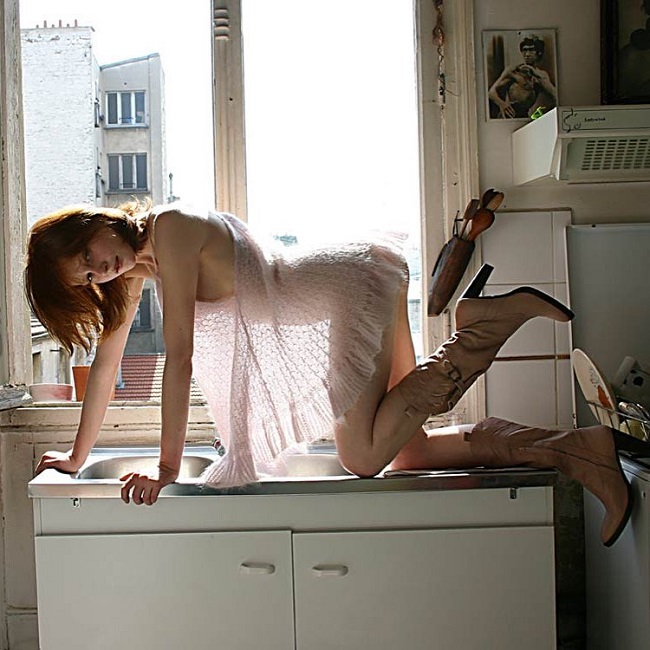 В фотоработах Жоффруа де Буаменю эстетика и пошлость взаимодействуют в опасной близости.
