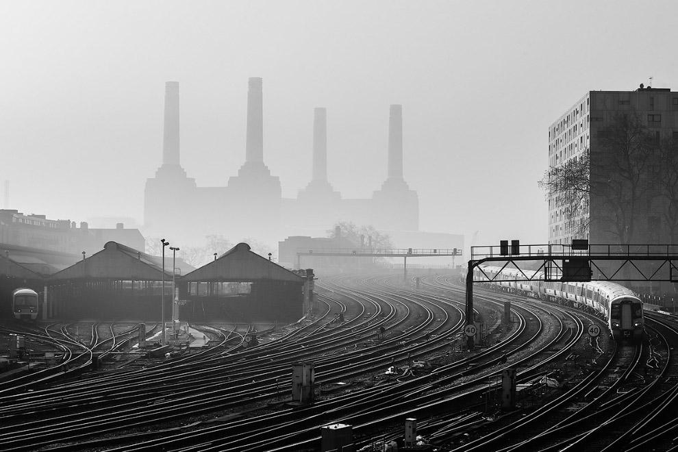 7. Красная башня, Южный берег, Лондон, Англия. (Фото Jim Wolfe | Landscape Photographer of the