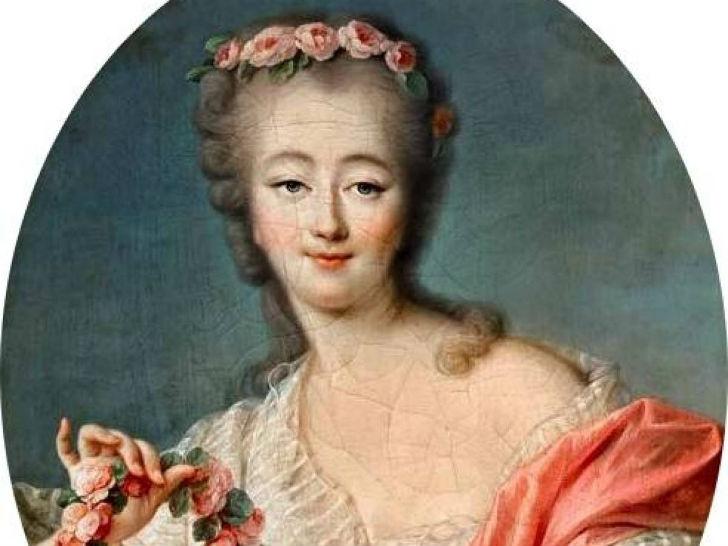 Мадам Дюбарри была известна французскому двору как официальная фаворитка короля Людовика XV. Мари Дю
