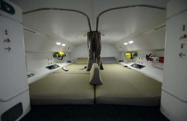 © Aaron Harris/Reuters  Внекоторых лайнерах предусмотрены небольшие секретные комнаты для чле