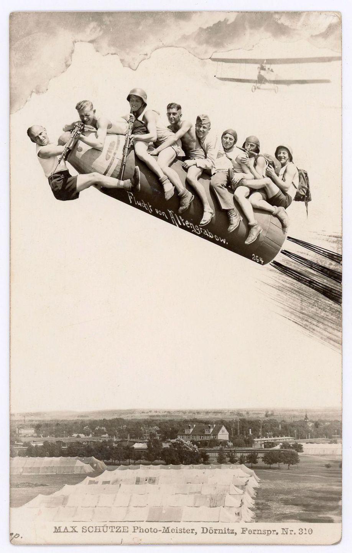 1930-е годы. «Полет из Альтенграбова». Военный лагерь Дерниц, Германия.