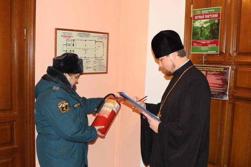 ВРождество вхрамах ицерквях Тульской области будут дежурить cотрудники экстренных служб