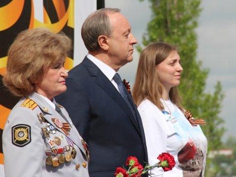 ВСаратове наСоколовой горе почтили память погибших вгоды ВОВ