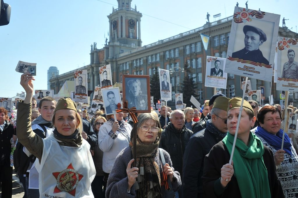 Нижегородский «Бессмертный полк» попал вфедеральный эфир канала «Россия 24»