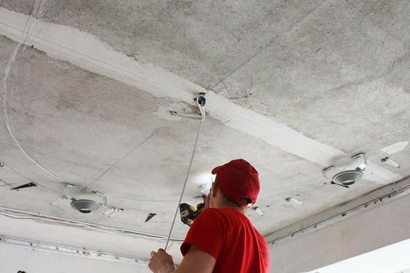 Потолок (верхнее внутреннее покрытие)