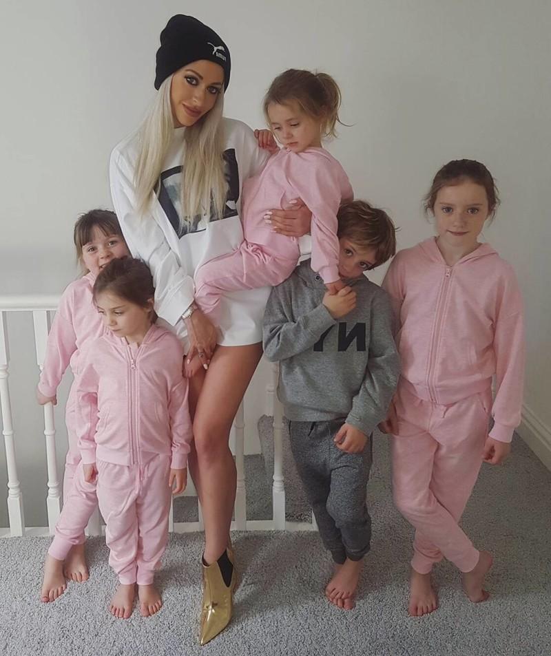 Пять детей - не повод быть жирной