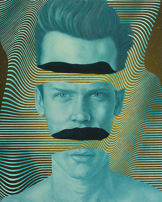 Psychedelic Portraits by Johnie Thornton