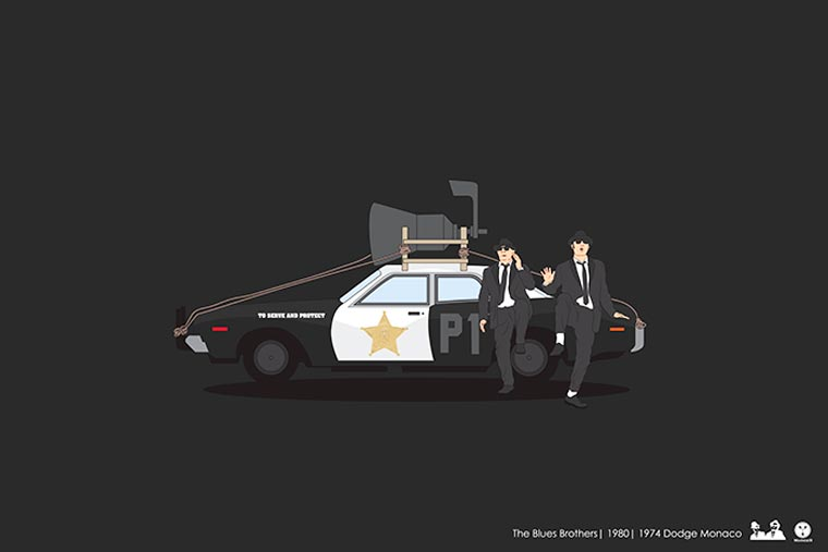 Cinema Driver - Paying tribute to the most famous vehicles of pop culture
