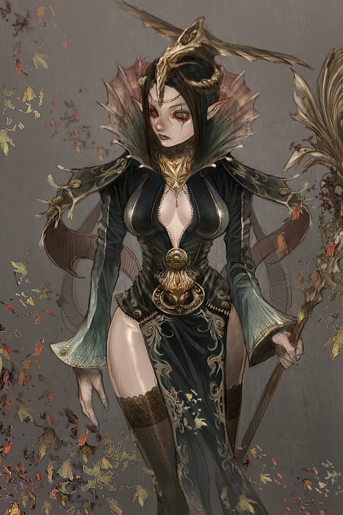 Unique Fantasy Illustrations by Kyoung Hwan Kim