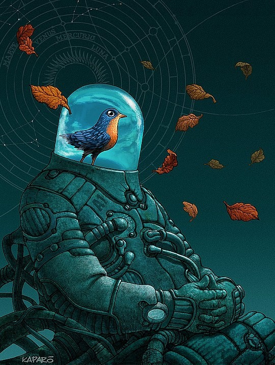 Hot Photoshop Illustrations by Antonio Caparo