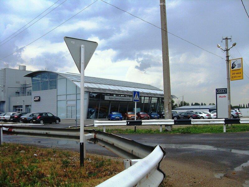 На дороге в центр Краснодара, июль, дождливая погода ...SDC13085.JPG