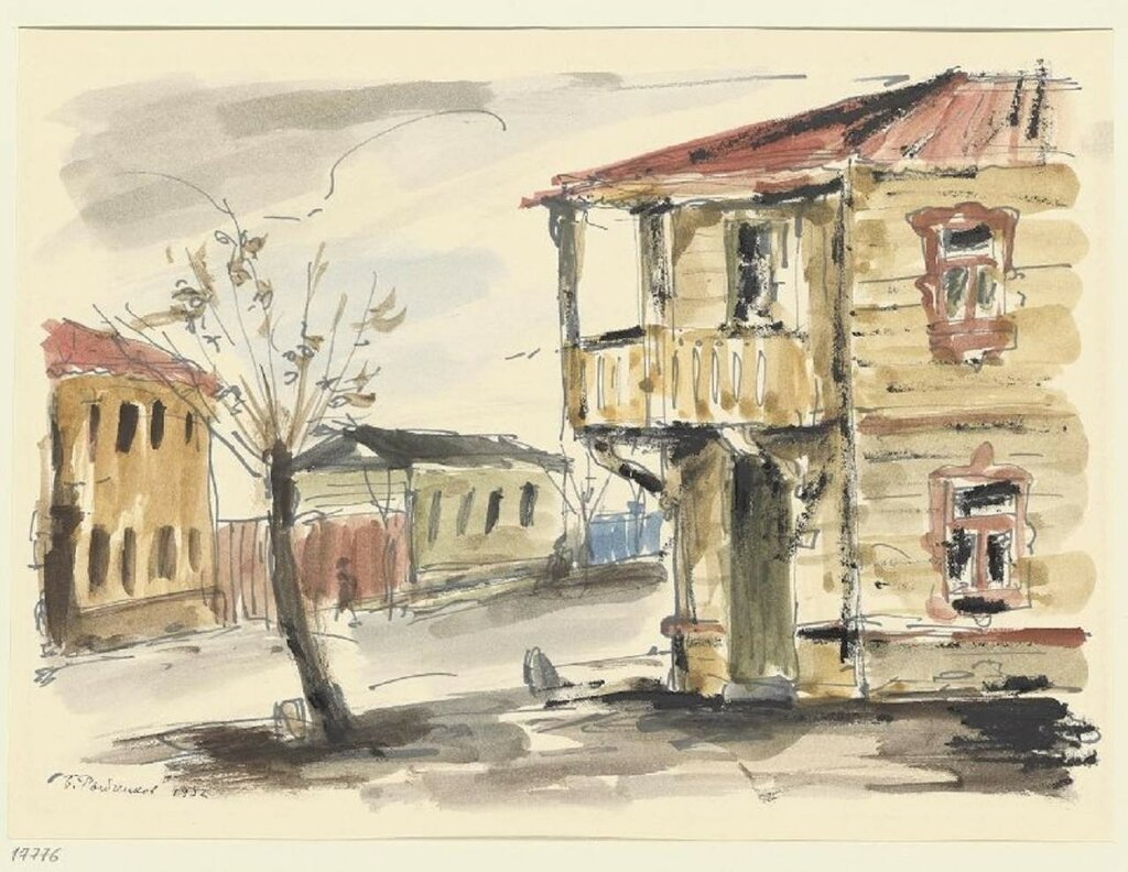 Рыбченков Борис Федорович (1899-1994) Москва. Уходящая окраина. 32.jpg