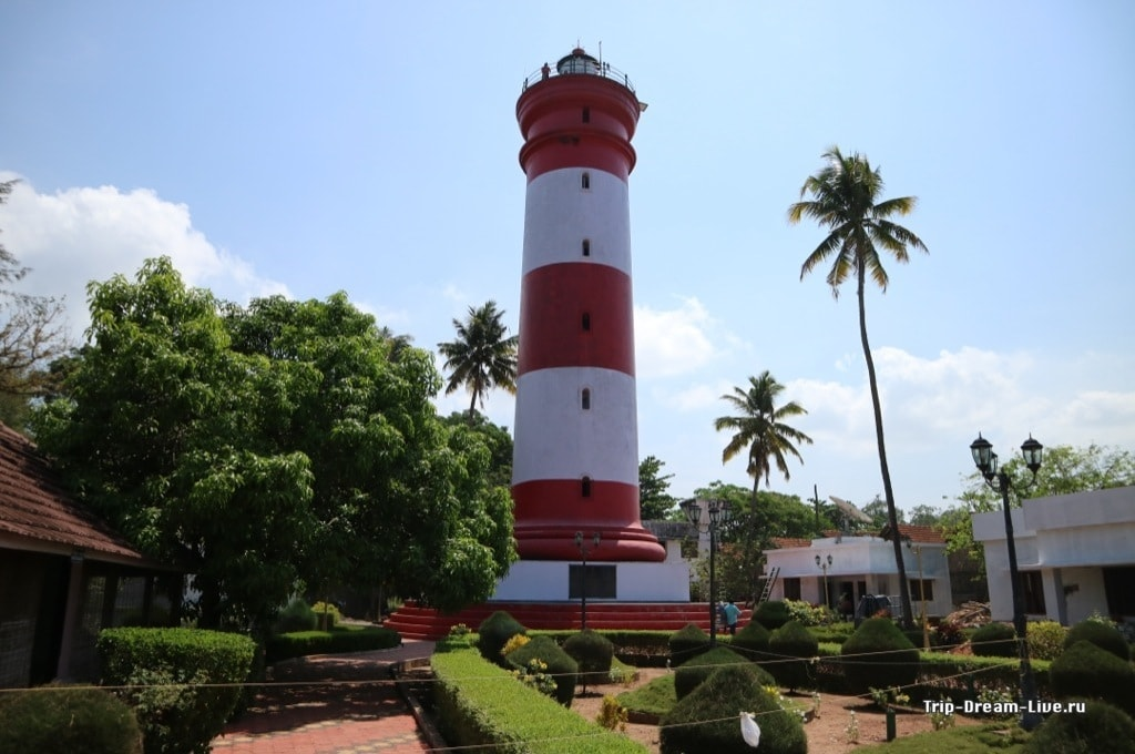 Маяк в Аллеппи (Alappuzha Lighthouse)