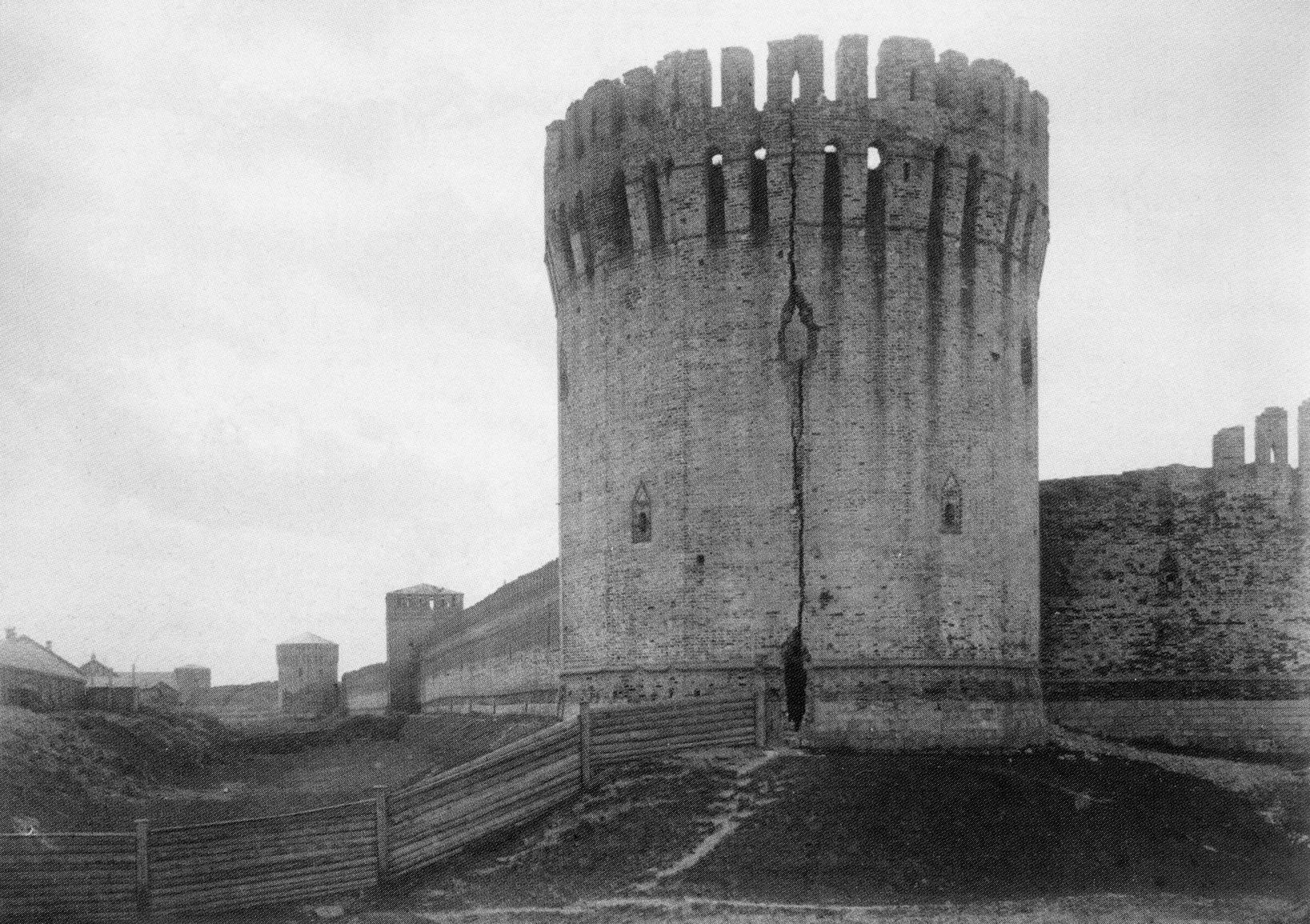 Заалтарная башня. 1889