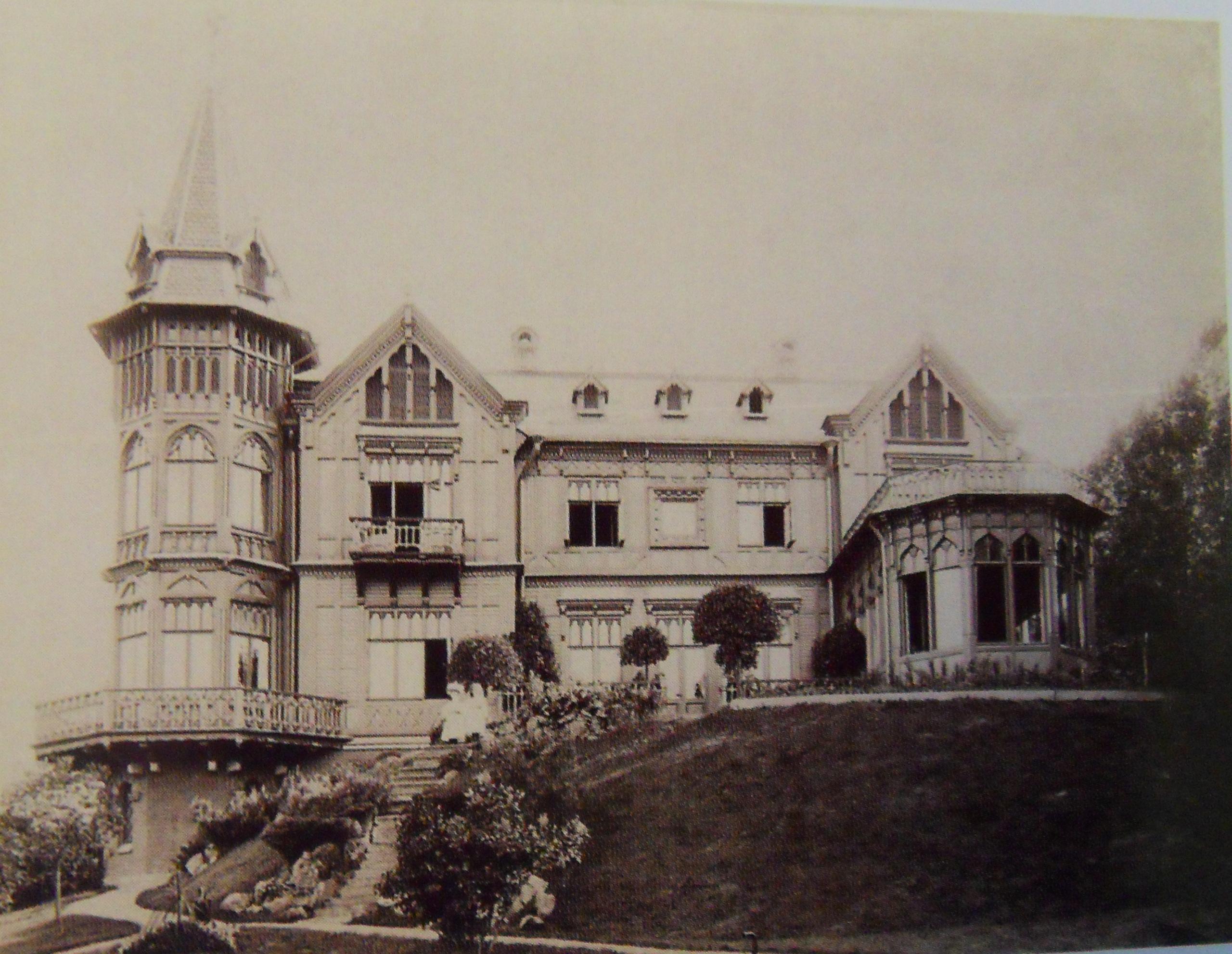 1900. Дача Л.И.Крона