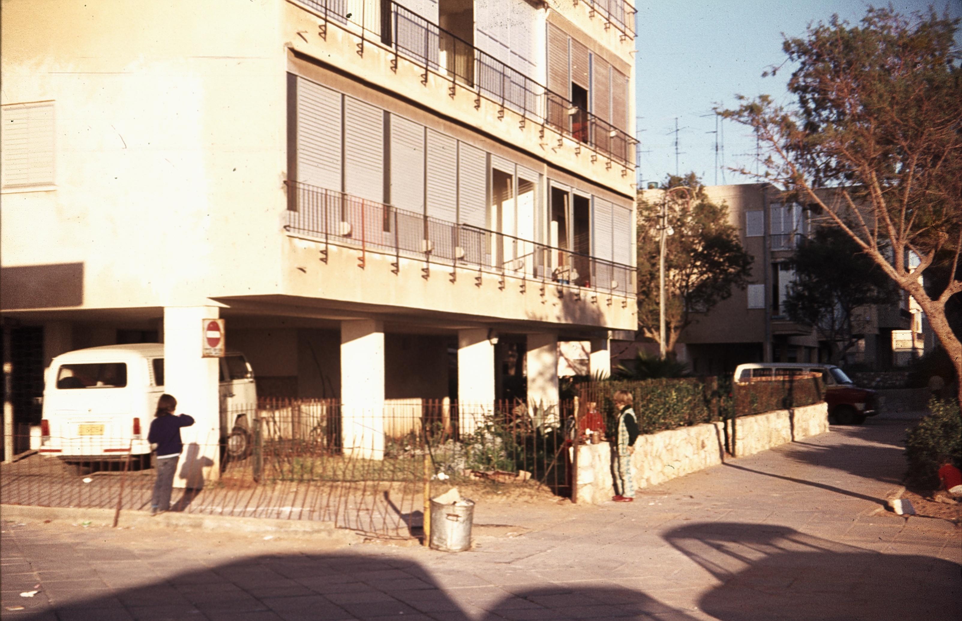 Бат-Ям. Улица Ротшильда