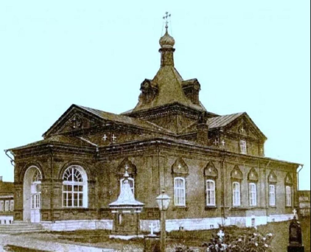 Сретенская трапезная церковь Преподобенского монастыря