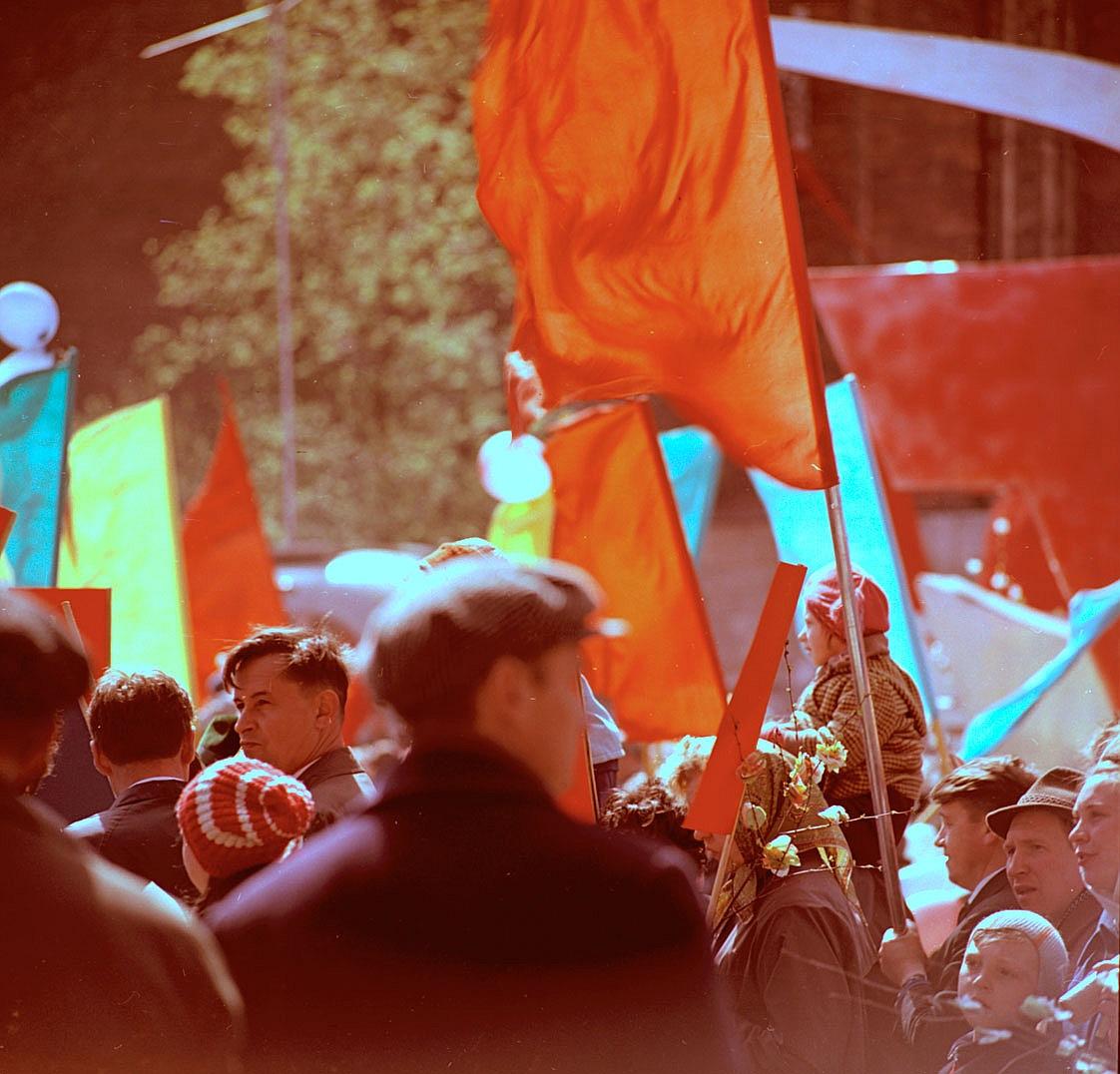 Первомайский парад в Москве
