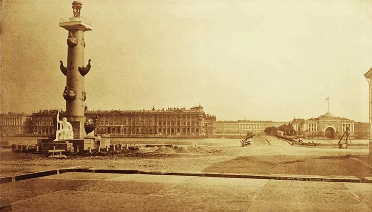 1856. Стрелка Васильевского острова