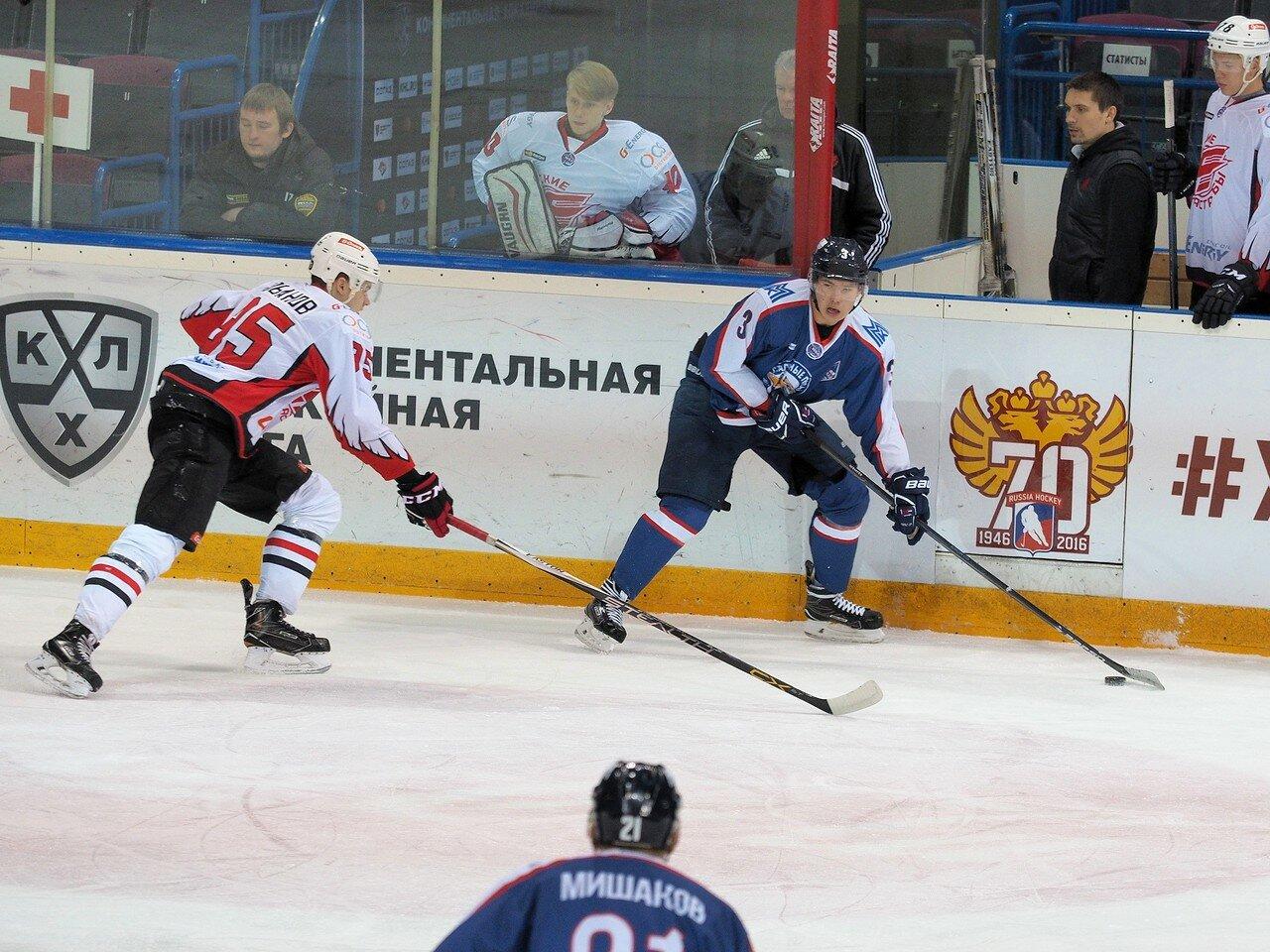 22Стальные Лисы - Омские Ястребы 13.12.2016