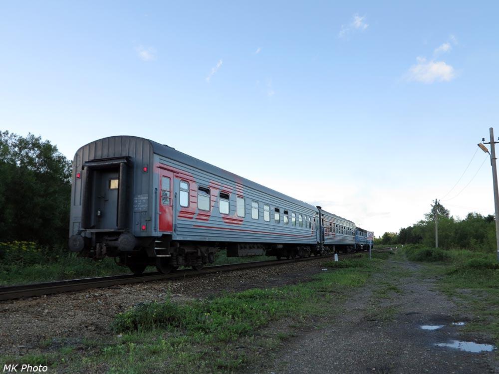 Пригородный поезд Южно-Сахалинск - Томари