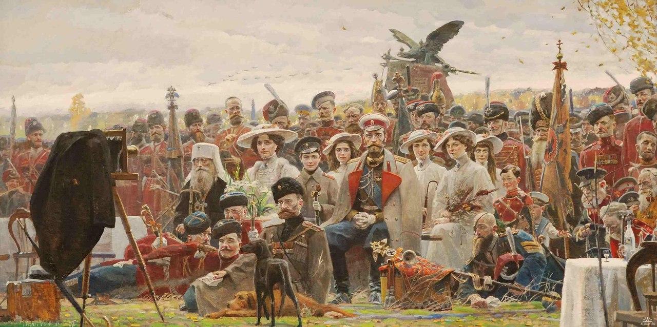 Чего б не вспомнить: последний год царской России в работах художников