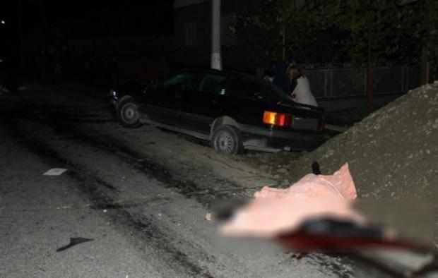 На Закарпатье нетрезвый священник наехал на пешеходов, есть жертвы (фото)