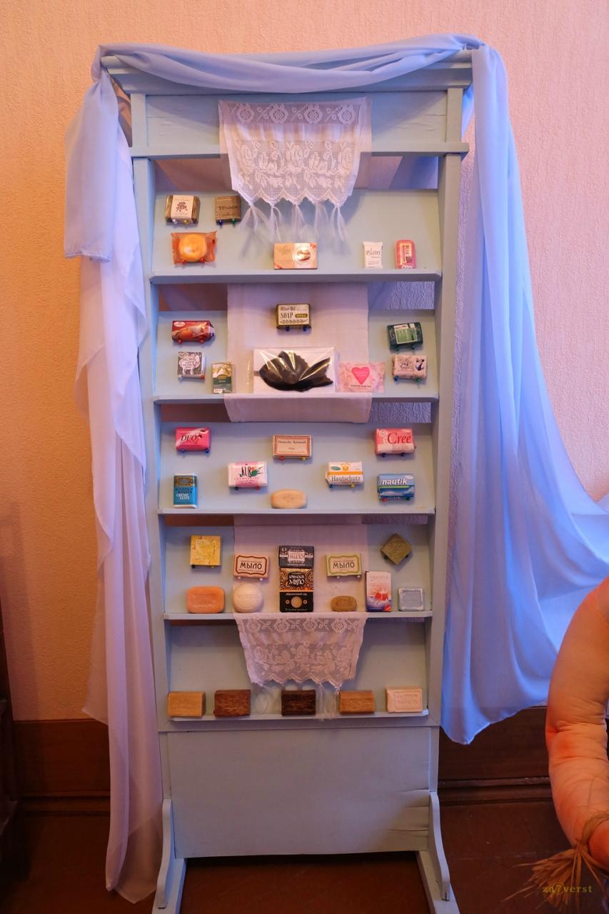Дом-особняк М.А. Павлова в Шуе, выставка мыла